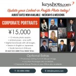 Corporate Portraits - August Offer